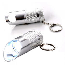 Stainless Steel Torch Keychain