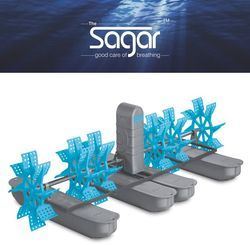 Sagar 3HP Paddle Wheel Aerator