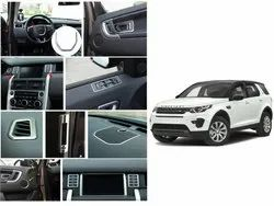 CarSaaz Interior Chrome Accessories Combo Kit For Land Rover Discovery Sport (Set Of 23 Pcs)