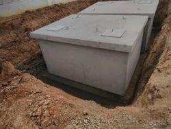 Precast concrete STP Tank