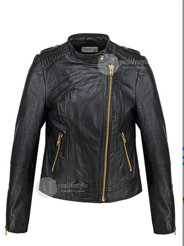 Brenda Leather Jacket Women