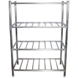 4 Shelves SS Pot Rack