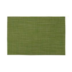 Zarnik Table Mat PVC 45x30 Cm, Olive Green, Size: 45 X 30