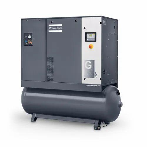 11 HP 11 kW Screw Air Compressor with 270L Tank