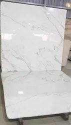 White Slab Indian Stavario Marble, Thickness: 15-20 mm