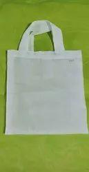 Polyester White Amala Cotton Bag, Size: 8*8