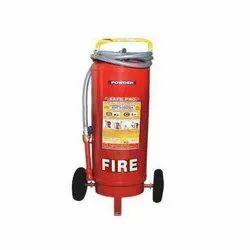 Safepro Carbon Steel 50 Kg Trolley Mounted Fire Extinguishers