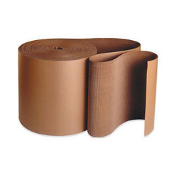 Brown One Side Corrugated Packaging Corrugated Rolls