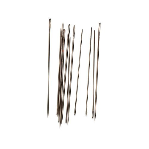 Stainless Steel Beading Hand Sewing Needles, Packaging Type: Box