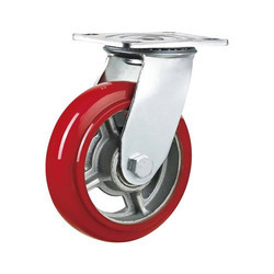Heavy Duty SS 304 PU Caster Wheel
