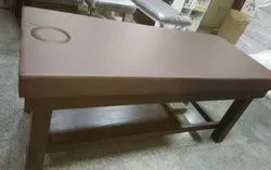 Brown Body Massage Bed