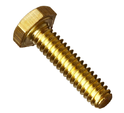 Bhumi Brass & Alloy Mild Steel Hex Bolt With Collar