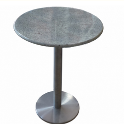 Chozha Mat Round Steel Table, For Hotel, Size: 2.5' Dia