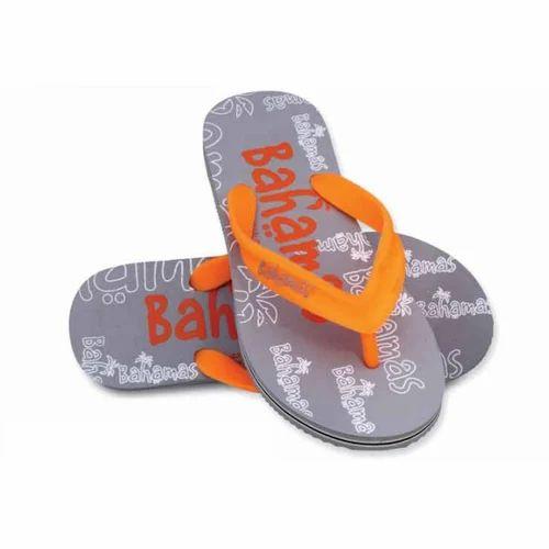51627cd7d4714a Men Bahamas Grey And Orange Slipper