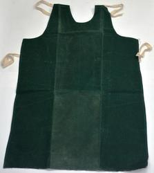 SS & WW Make Green Canvas Cloth Waxed Apron Size 24''''36