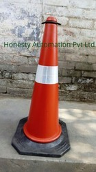 Round Traffic Cone Message Plate