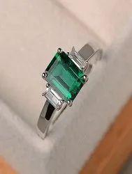 Emerald / Panna Natural & Original Gemstone Ring