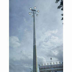 12.5 Meter High Mast Pole LED Light