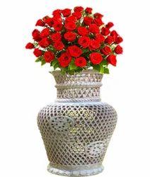 Soapstone Unique Work Flower Pot