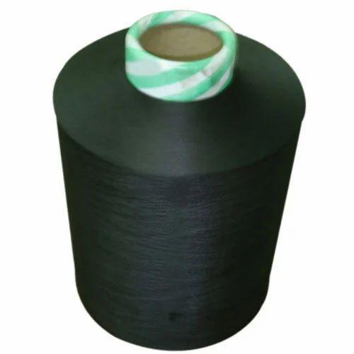 Black Dyed Yarn