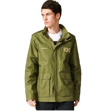 Mens Adidas Originals Field Jacket Sailing Jacket