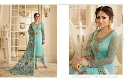 Satin Georgette Suits