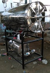 Stainless Steel Cylindrical Autoclave