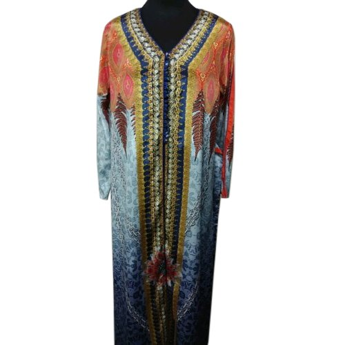 14c1b8427c44 Chiffon Ladies Stylish Printed Kaftan, Rs 1200 /piece, Zara Style ...