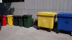 1100 Liter Wheeled Garbage Dustbin