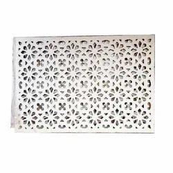 Dholpur White Stone Jali