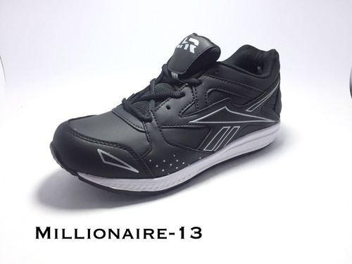 7e12b72de09 Lehar Black Sports Shoes, Size: 8, 10, 6, 7, 9, 6*10, Rs 550 /pair ...