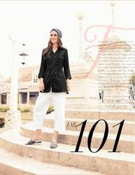 Lymi Esteem Series 101-106 Stylish Party Wear Rayon Top