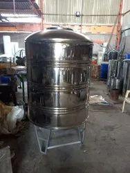 SS 316 3000 Liter Water Storage Tank