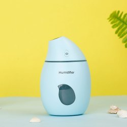Air Freshener Mango Humidifier With LED Night Light For Car