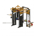 Cross Fit Machine For Gym, Model: Cf 360a, Stack: 184 Kg