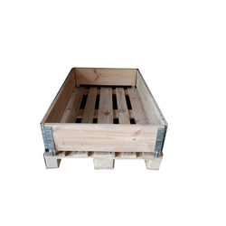 3 Way Rectangular Industrial Wooden Pallets, Capacity: 1000 Kg