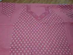 Chikan Dress Material Full Work