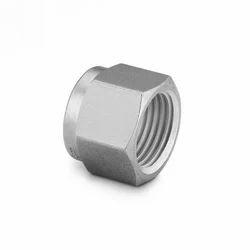 Stainless Steel Ferrule Nut, Size: 1/4