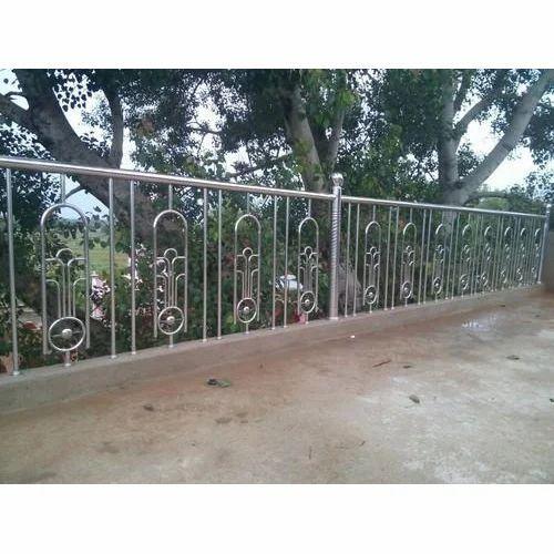 Stainless Steel Roof Railing Ss Railings स ट नल स स ट ल र ल ग Roushan Trade Dhanbad Id 17643477597