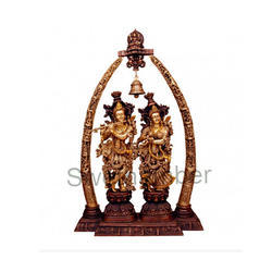 44 Inches Lord Radha Krishna Statue
