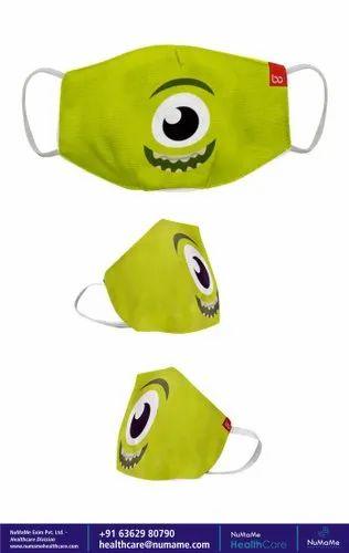 Reusable Bon Organik Toy Story Fun Printed Protective Kids ...