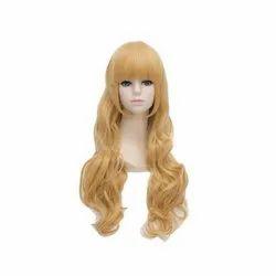 Golden Human Hair