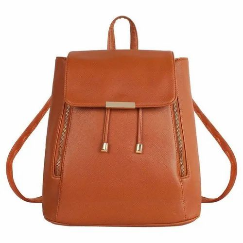 Girls Brown Backpack