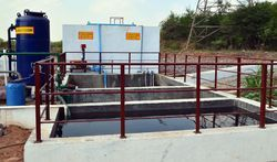 Sewage Treatment system-Civil