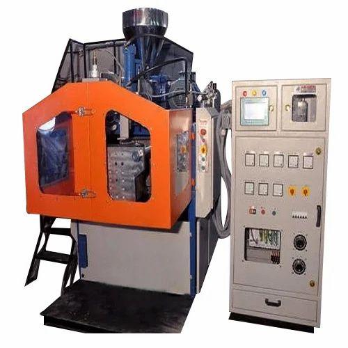 1 Litre Single Head Double Station Moulding Machine
