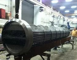 horizontal shell and tube heat exchanger