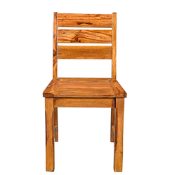 Natural Living Three Strip Wooden Dining Chair RCHR0953
