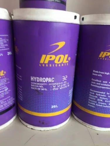 Ipol Hydropac 68 32 46 Hydraulic Oil Packaging Type Barrel