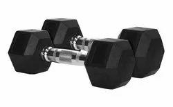 Fixed Weight Hexagonal Dumbells, for Gym