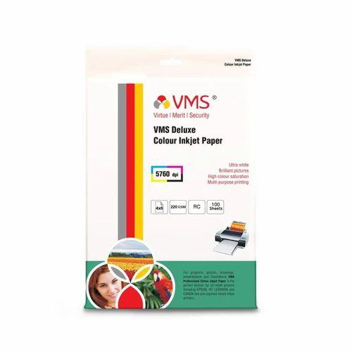 A4 Gloss Photo Paper 235 gsm Inkjet Printer Photo Colour Paper-8 Sheets